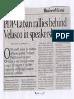 Business Mirror, June 25, 2019, PDP-Laban rallies behind Velasco in speakership race.pdf