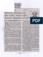 Manila Bulletin, June 25, 2019, Mirror, Mirror on the wall, who's the fairest speaker of all.pdf