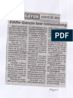 Ngayon, June 25, 2019, Eddie Garcia law isinusulong.pdf