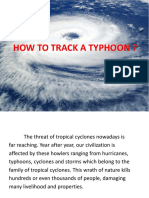 How to Track a Typhoon