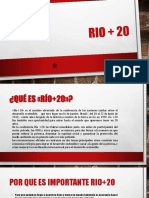 Rio + 20 exposicion