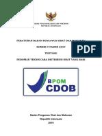 Pedoman Teknis CDOB 2019