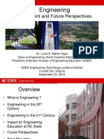 Engineering Past Present and Future Perspectives