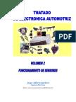 Tratado de Electrónica Automotriz - Funcionamiento de Sensores