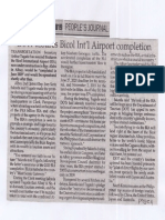 Peoples Journal, June 25, 2019, DoTr assures Bicol Int'l Airport completion.pdf