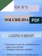 5 Solubilidad