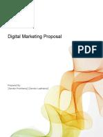 Digital Marketing Proposal Template -