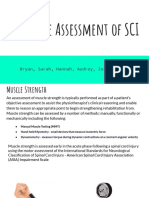 Objective Assessment of spinal cord injury