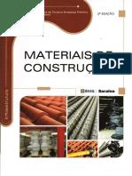 Materiais de Construção - Antônio Carlos de Fonseca Bragança Pinheiro e Marcos Crivelaro