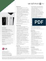 E980 LG Optimus G Pro Spec Sheet