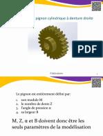 Pignon Cylindrique a Denture Droite Pmc