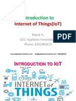 1.Introduction to IoT Appleton