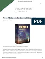 Nero Platinum Suite 2018 [Español] - Hugiuxx's Blog