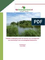Rapportage TipLansingerland