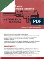 Uzi Carbine Manual