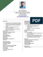 Arsal Resume