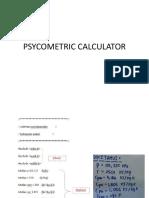 Psycometric Calculator