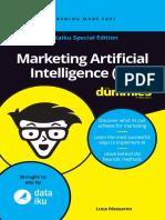 Marketing Artificial Intellegence FD Dataiku Special Edition
