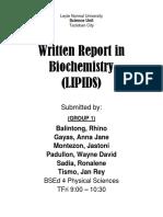 Revise Lipids