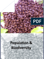 Populations and Biodiversity