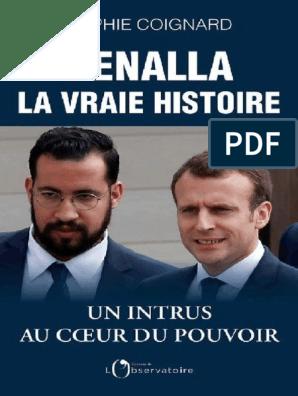 Sophie Coignard Benalla La Vraie Histoire France