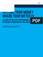 Pay for Performance Efficiency Report