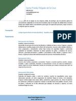 Curriculum Santa Pineda Delgado de La Cruz