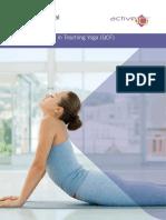 Yoga teaching