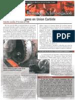 Asfixia Por Nitrógeno en Union Carbide