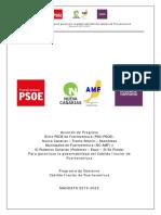 Acuerdo de gobierno para el Cabildo Fuerteventura