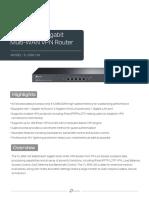 TL-ER6120(UN) 3.0 Datasheet