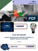 ANAF - Plan măsuri de colectare a veniturilor