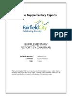 Fairfield City Council electoral changesMar 2019 Council