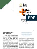 Taize Prayer Guide 2