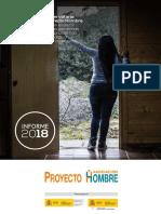 Informe Observatorio 2018 Proyecto Hombre