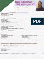 Curriculum Maria Mujica COCINERA (2)