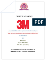 Project Report on 3M