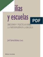 Familias y Escuelas - Jordi Garreta Bochaca
