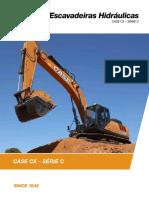 Prospecto escavadeira CX220C