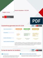 Resultados de La Evaluación Censal de Estudiantes ECE 2018. Región Piura