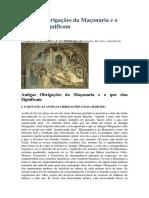 Antigas Obrigações da Maçonaria e o que elas Significam.docx