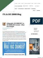 ISO 20000 version 2018 vs 2011