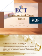 Secrets Of Content Writing To Write Skill Writing