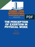 (Wenner-Gren Center International Symposium Series) Gunnar Borg, David Ottoson (eds.)-The Perception of Exertion in Physical Work_ Proceedings of an International Symposium held at The Wenner-Gren Cen.pdf