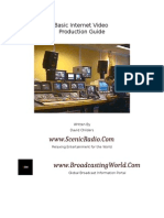 Basic Internet Video Production Guide