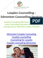 Couples Counselling - Edmonton Counselling Services
