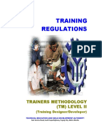 TR Trainers Methodology