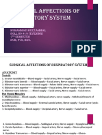 Surgical Affections of Respiratory System