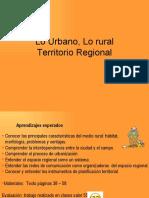 Sistema Urbano y Rural