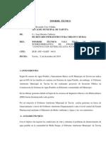 Informe Tecnico Molle Cancha